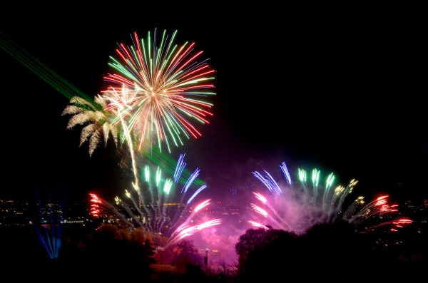 Firework displays for charity events